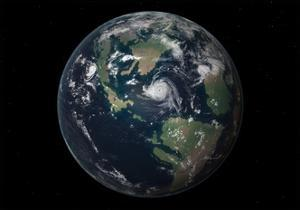 Planet Earth 90 Million Years Ago During the Late Cretaceous Period