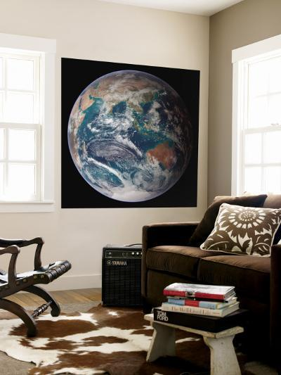 Planet Earth Eastern Hemisphere, NASA Satellite Composite--Wall Mural