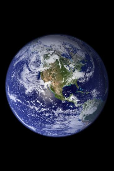 Planet Earth from Space (North America)--Photo