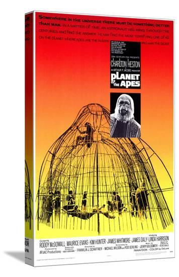 Planet of the Apes--Stretched Canvas Print