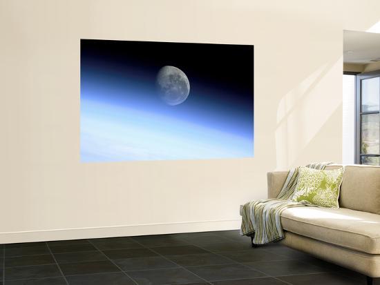 Planet's Limb--Giant Art Print