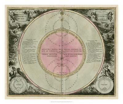 Planetary Chart IV--Giclee Print