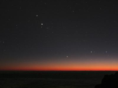 Planetary Conjunction, Optical Image-Eckhard Slawik-Photographic Print