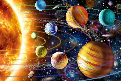 Planetary System-Adrian Chesterman-Art Print