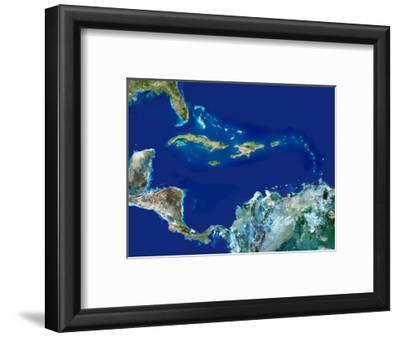 Caribbean, Satellite Image