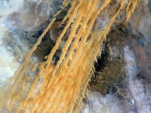 Erg Iguidi Desert, Satellite Image by PLANETOBSERVER