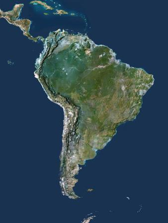 South America by PLANETOBSERVER