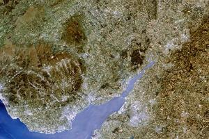 True-colour Satellite Image of Severn Estuary, UK by PLANETOBSERVER
