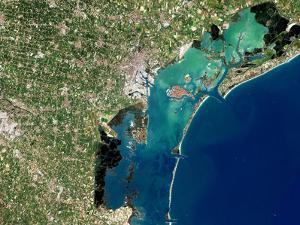 Venice, Satellite Image by PLANETOBSERVER