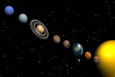 Planets of the Solar System--Art Print