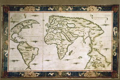 Planisphere, 1566-Nicolas Lancret-Giclee Print