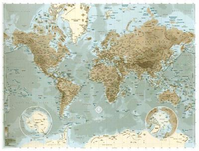 Planisphère--Art Print