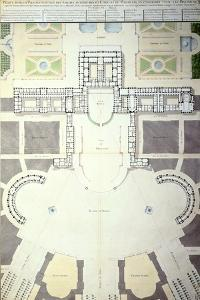 Plans for the Transformation of Versailles, France, 1780
