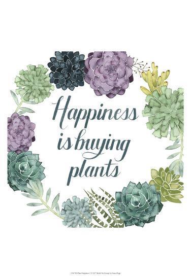 Plant Happiness I-Grace Popp-Art Print