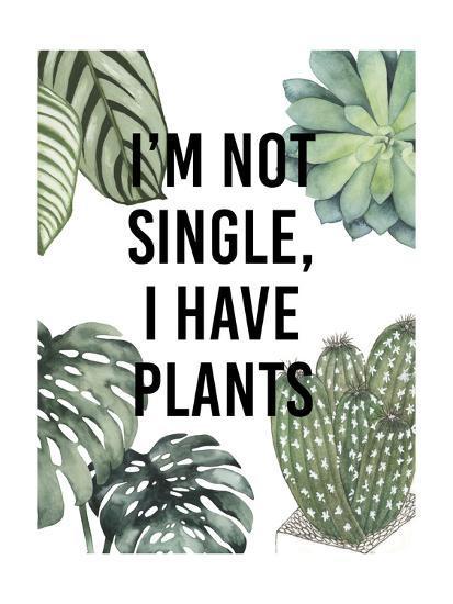 Plant Love V-Studio W-Art Print