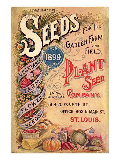 Plant Seed Company St. Louis--Art Print
