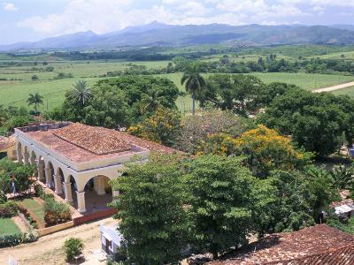 Plantation House on the Guainamaro Sugar Plantation, Valley De Los Ingenios, Cuba-Bruno Barbier-Photographic Print