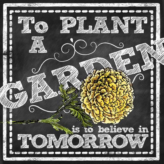 Planting a Garden--Giclee Print