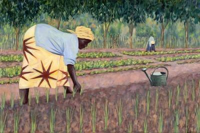 Planting Onions, 2005-Tilly Willis-Giclee Print