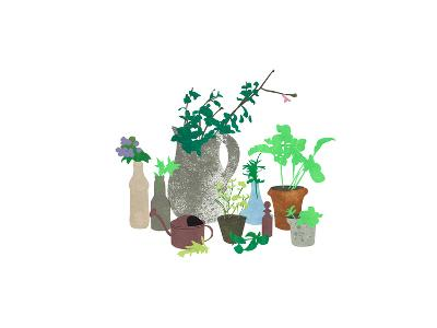 Plants-sooyo-Art Print
