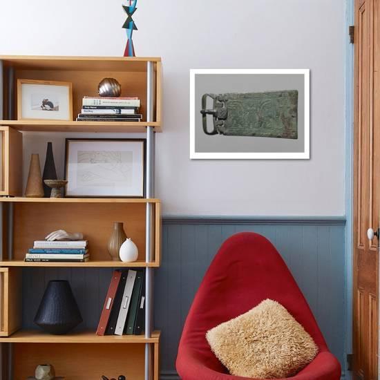 Plaque-boucle reliquaire   Daniel dans la fosse aux lions--Giclee Print  displayed ebac57d0c01
