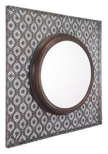 Plaque Mirror Antique Metal