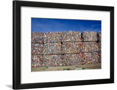 Plastic Recycling-Alan Sirulnikoff-Framed Photographic Print