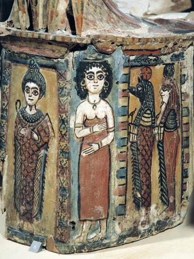Plastron of Coffin Depicting Isis Figure--Giclee Print