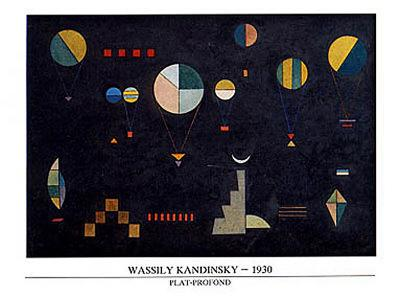 Plat-Profond, 1930-Wassily Kandinsky-Art Print