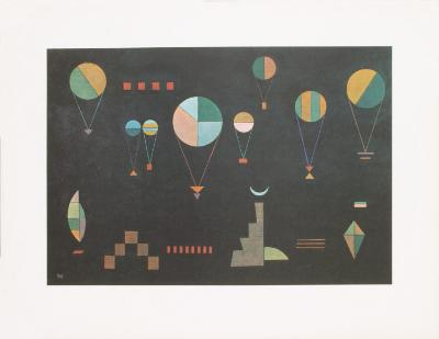 Plat Profond-Wassily Kandinsky-Art Print