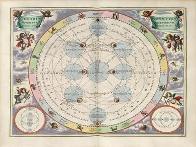 Plate 18 from Harmonia Macrocosmica-Andreas Cellarius-Giclee Print