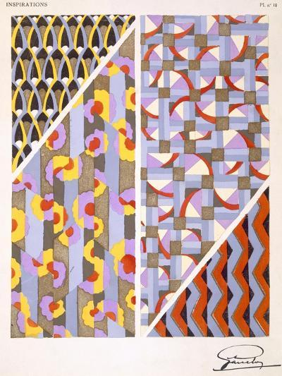 Plate 18, from 'Inspirations', Published Paris, 1930S (Colour Litho)- Gandy-Giclee Print