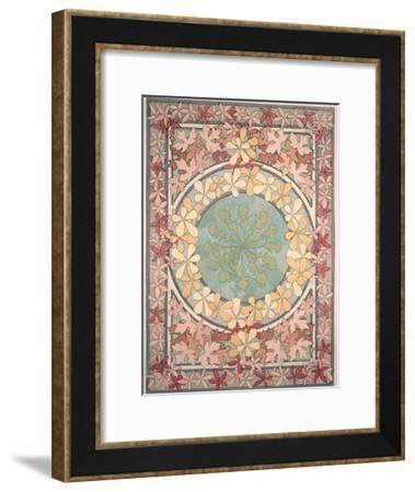 Plate 28 from 'Documents Decoratifs', 1902-Alphonse Mucha-Framed Giclee Print
