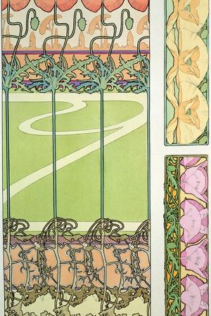 Plate 29 from 'Documents Decoratifs', 1902-Alphonse Mucha-Giclee Print