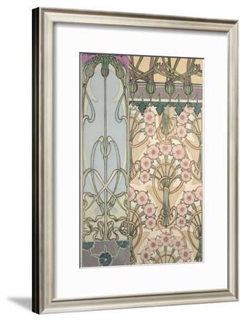 Plate 30 from 'Documents Decoratifs', 1902-Alphonse Mucha-Framed Giclee Print