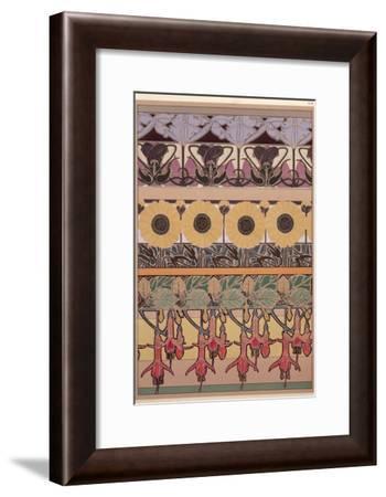 Plate 40 from 'Documents Decoratifs', 1902-Alphonse Mucha-Framed Giclee Print