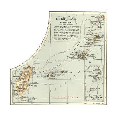 Plate 46. Inset Map of the South Part of Japan-Encyclopaedia Britannica-Giclee Print