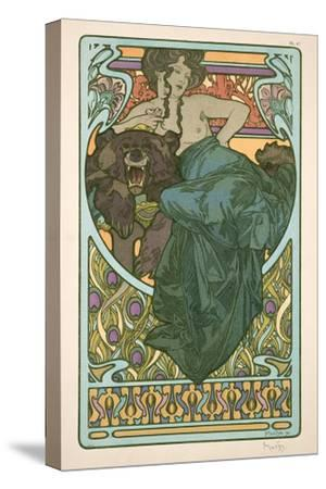 Plate 47 from 'Documents Decoratifs', 1902-Alphonse Mucha-Stretched Canvas Print