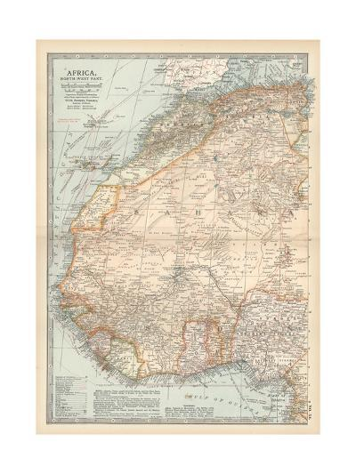 Plate 54. Map of Africa-Encyclopaedia Britannica-Giclee Print