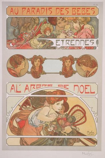 Plate 56 from 'Documents Decoratifs', 1902-Alphonse Mucha-Giclee Print