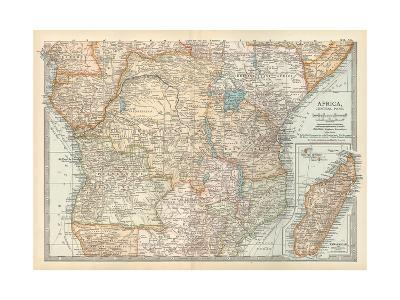 Plate 56. Map of Africa-Encyclopaedia Britannica-Giclee Print