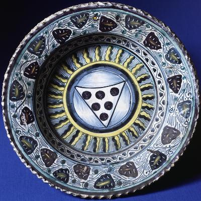 Plate, Ceramic, Florence Manufacture, Italy--Giclee Print
