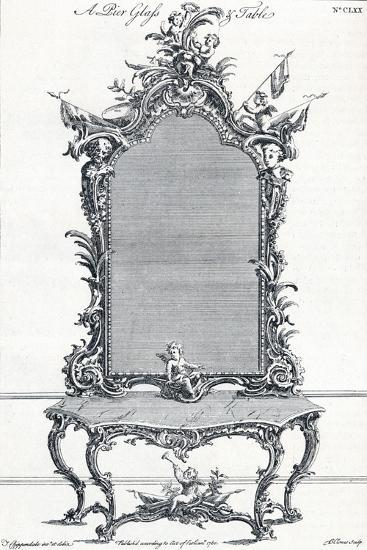 Plate CLXX, from Chippendales Director, 1754, (1903)-Butler Clowes-Giclee Print