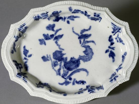 Plate Decorated with Prints, Circa 1745--Giclee Print