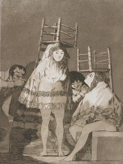 Plate from Los Caprichos, 1797-1798-Francisco de Goya-Giclee Print