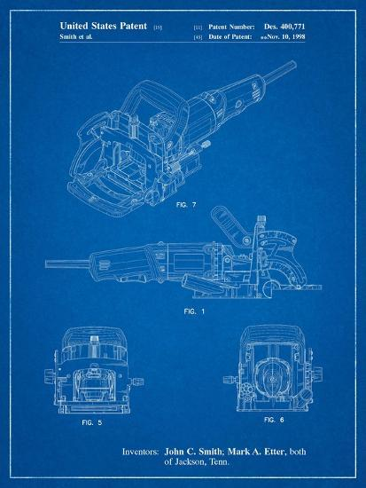 Plate Joiner Patent-Cole Borders-Art Print
