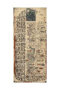 Plate Lxi of the Dresden Codex