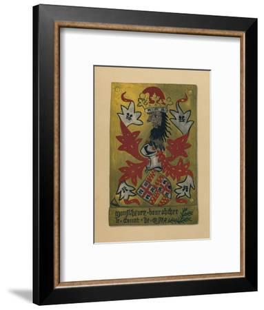 Plate LXI - Sir Henry Bourchier, Lord Bourchier, Count of EU, and Earl of Essex, KG, 1872--Framed Giclee Print