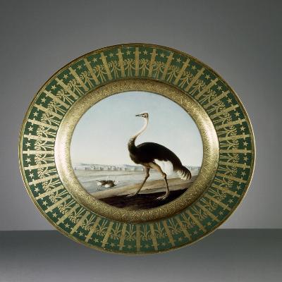 Plate, Porcelain, Sevres Manufacture, Ile-De-France, France--Giclee Print