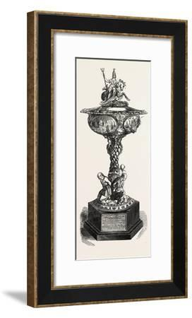 Plate Presented to Captain J.C. Dalrymple Hay, R.N., 1851--Framed Giclee Print
